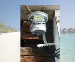 Máy khổi khí con sò cạn veratti 200w