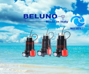 Bơm chìm nước thải belunu chuẩn Italy