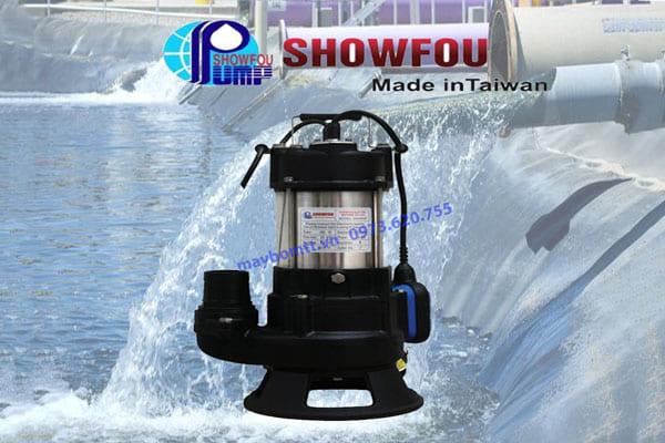 Bơm chìm nước thải ShowFou 0.75kw (Taiwan)